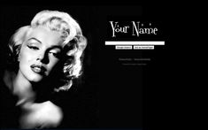 Marilyn Monroe Theme from ShinySearch