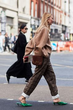 London Fashion Week has begun, and we're bringing you the best street style outfit inspo. See the looks, all in one place, here. #streetstylefashion,