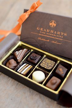 Gearharts Fine Chocolates- Gift assortments of handmade confections