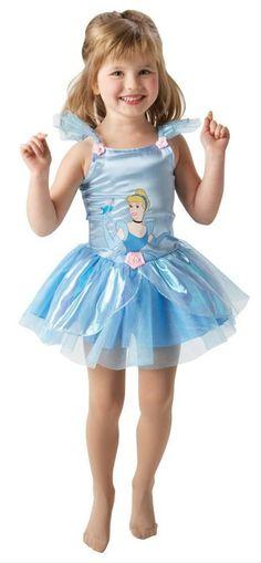 Rubies Cinderella Ballerina Costume 2-3yrs | eBay