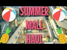 Summer Mall Haul | August 2015 ♥