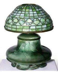 Rookwood lamp Tiffany shade