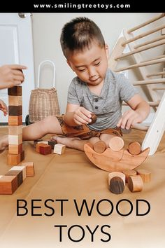 Educational and fun wooden toys for toddlers and preschoolers handmade in the USA. Wooden Toy Crates, Wood Toys, Toddler Preschool, Toddler Toys, Baby's First Ornament, Bug Toys, Welcome New Baby, Imagination Toys, Wooden Toys For Toddlers