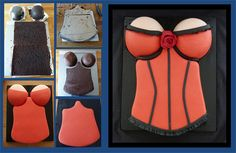 corset step by step by Little miss fairy cake, via Flickr