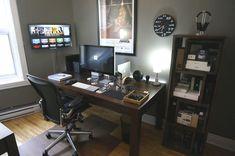 Frederic Briand's Workplace - Mac Desks