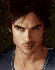 Ian Somerhalder~ Damon from The Vampire Diaries maybe should play Christian Grey-the eyes