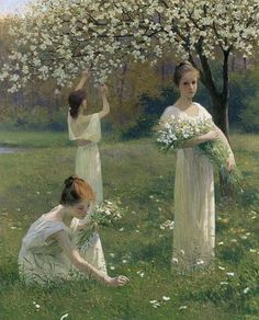 Spring - Leopold Kowalsky - (French, 1856 - 1931)