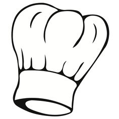 Free Image on Pixabay - Chef'S Hat, Chef, Clothing, Uniform Coloring Sheets, Coloring Pages, Coloring Stuff, Silhouette Cameo, Puzzle Photo, Cooking Clipart, Free Vector Art, Hat Vector, Graphic Design Art
