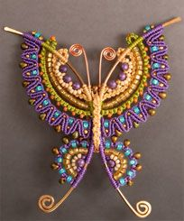 What a beautiful design.  I think micro macrame jewellery is next on my list of things to learn!