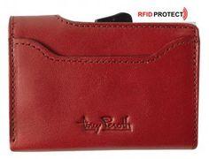 Furbo Tony Perotti Geldbörse Kreditkarten rot RFID-Schutz Rouge - Bags & more Card Holder, Wallet, Bags, Red, Handbags, Rolodex, Purses, Diy Wallet, Purse