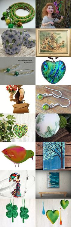 Spring things:) by Zhanna Belous on Etsy--Pinned+with+TreasuryPin.com