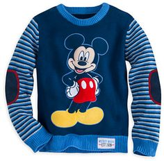 Mickey Mouse Knitted Sweater for Boys