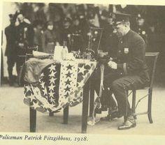 Policeman sock knitting by spiden001, via Flickr