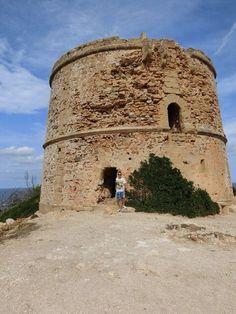 Torre del Matzoc – Velbevaret forsvarstårn fra den sene middelalder