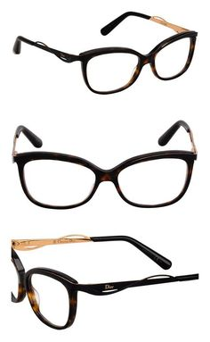 56ee53f15d6c DIOR Eyeglasses 3280 06Ny Dark Havana Black 53MM  apparel  eyewear   christiandior  prescription eyewear frames  shops  women  departments