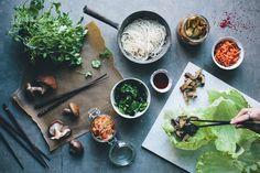 Korean kimchi wraps / green kitchen stories