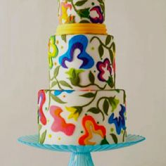 Know a person with an artistic bend? Then consider this Matisse style birthday cake. It's beautiful!