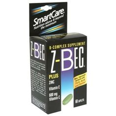 ZBec Smart Care BComplex Supplement Caplets 60 ct Pack of 2 >>> See this great product by click affiliate link Amazon.com