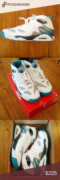 Rare Nike Air Tech Challenge Huarache Brand New with Orig Box Never tried on Nike Air Tech Challenge Huarache Limited Run Show. Perfect A+ Quality Size 10.5 Men's . VERY RARE SHOES no top to box Nike Shoes Sneakers