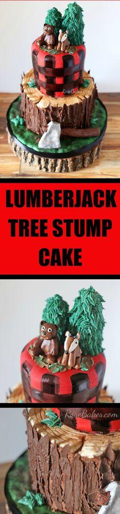 Lumberjack Tree Stum
