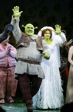 Shrek the Musical on Broadway can't wait xxx Broadway Costumes, Theatre Costumes, Cool Costumes, Halloween Costumes, Theatre Nerds, Music Theater, Broadway Theatre, Broadway Shows, Shrek Costume