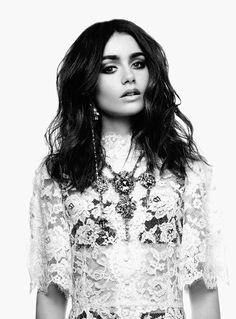 LILY COLLINS (American and English actress and model)
