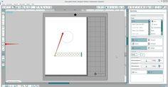 Kreis mit Zierrand in der Silhouette DE erstellen - Silhouette Tipps & Verpackungs Ideen von Jette