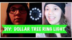 DIY: UNDER $20 DOLLAR TREE RING LIGHT | Stephanie Chang