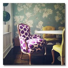 Tips for Decorating with Radiant Orchid , Pantone 2014 Color of the Year. - Fieldstone Hill Design