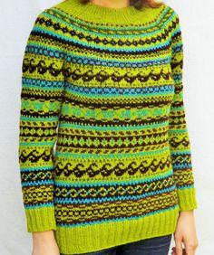 Icelandic sweater Norwegian sweater Womens by TriinasHandmade