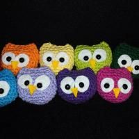 Crocheting : baby owl toys