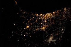 The Israel-Gaza conflict is now visible from space