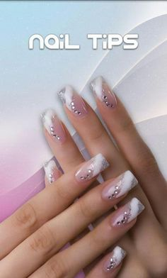 Check Out 25 Best Manicure Nail Art Ideas. Since the nail art as come a long way. It includes an airbrushing machine designed to perform manicure nail art. French Manicure Nail Designs, Cool Nail Designs, Acrylic Nail Designs, Acrylic Nails, Nails Design, French Manicures, Fingernail Designs, Awesome Designs, Fabulous Nails