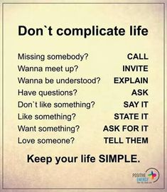 You see...it's that simple!