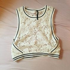 crop top renda - blusas daniel cassin