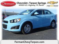 2014 Chevrolet Sonic LT Sedan - Cool Blue