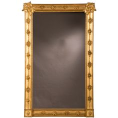 """William Kent Style Gilded Frame Mirror, England circa 1890 (33""""w x 55 1/2""""h)   See more antique and modern Wall Mirrors at http://www.1stdibs.com/furniture/mirrors/wall-mirrors"""