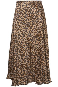 Animal Print Midi Skirt - StyleSays