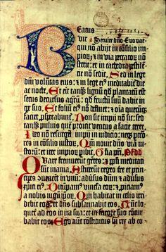Psalterium Benedictinum, 1459.