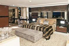 quarto de luxo elegante | casas modernas interiores