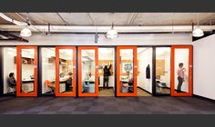 Browse and discover thousands of office design and workplace design photos - tagged and curated to make your search faster and easier. Office Fit Out, Small Office, Mini Office, Corporate Interiors, Office Interiors, Corporate Offices, Office Interior Design, Interior Exterior, Design Offices