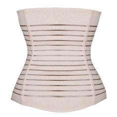 ac0be839a5 Womens Hourglass Hook Waist Cincher Training Corset Shapewear Size SBeige      Click image for · Postpartum Belly BandBody ...