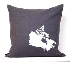 Canada pillow - I approve!