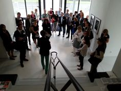 "Insights ""Social Media, Kunst + Finanzen"" am 23.06.2014: Art Foyer der DZ Bank, Ausstellung ""Blütezeit"" #smcffm"
