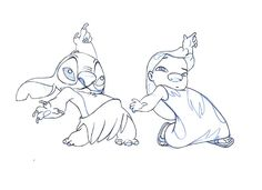 Lilo and Stitch sketch