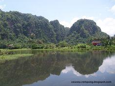 Karst in Rammang Rammang, South Sulawesi, Indonesia