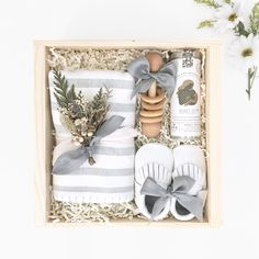 Welcome Baby Box. Baby Shower Gift Box from Loved and Found