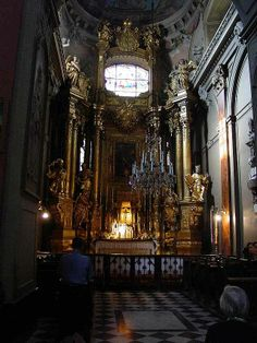 Interiors of the Latin Cathedral, taking the site in the World Heritage List.