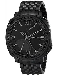 Men s VC 1002BKTI The Veteran Multi-Function Black Bracelet Watch 3c8a3a9fda8