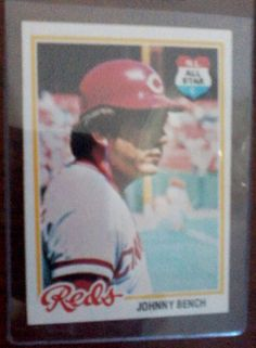 1978 Topps Johnny Bench Cincinnati Reds #700 Baseball Card  NR-MT #CincinnatiReds NM-MT